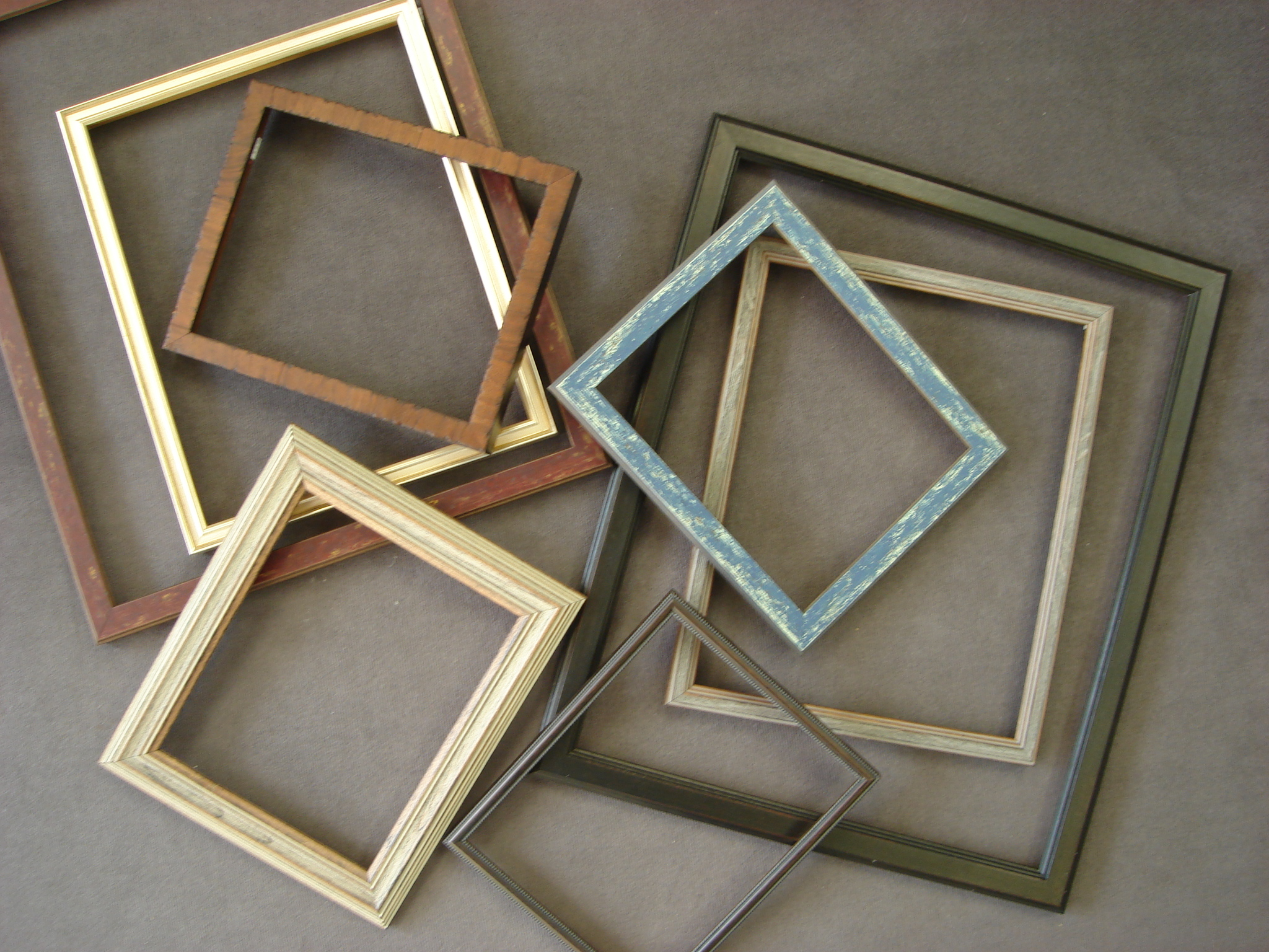 Picture framing art connection in coos bay we build our own ready made frames from fine custom mouldings add one of our pre cut mats and youve got a custom look for a ready made price jeuxipadfo Choice Image